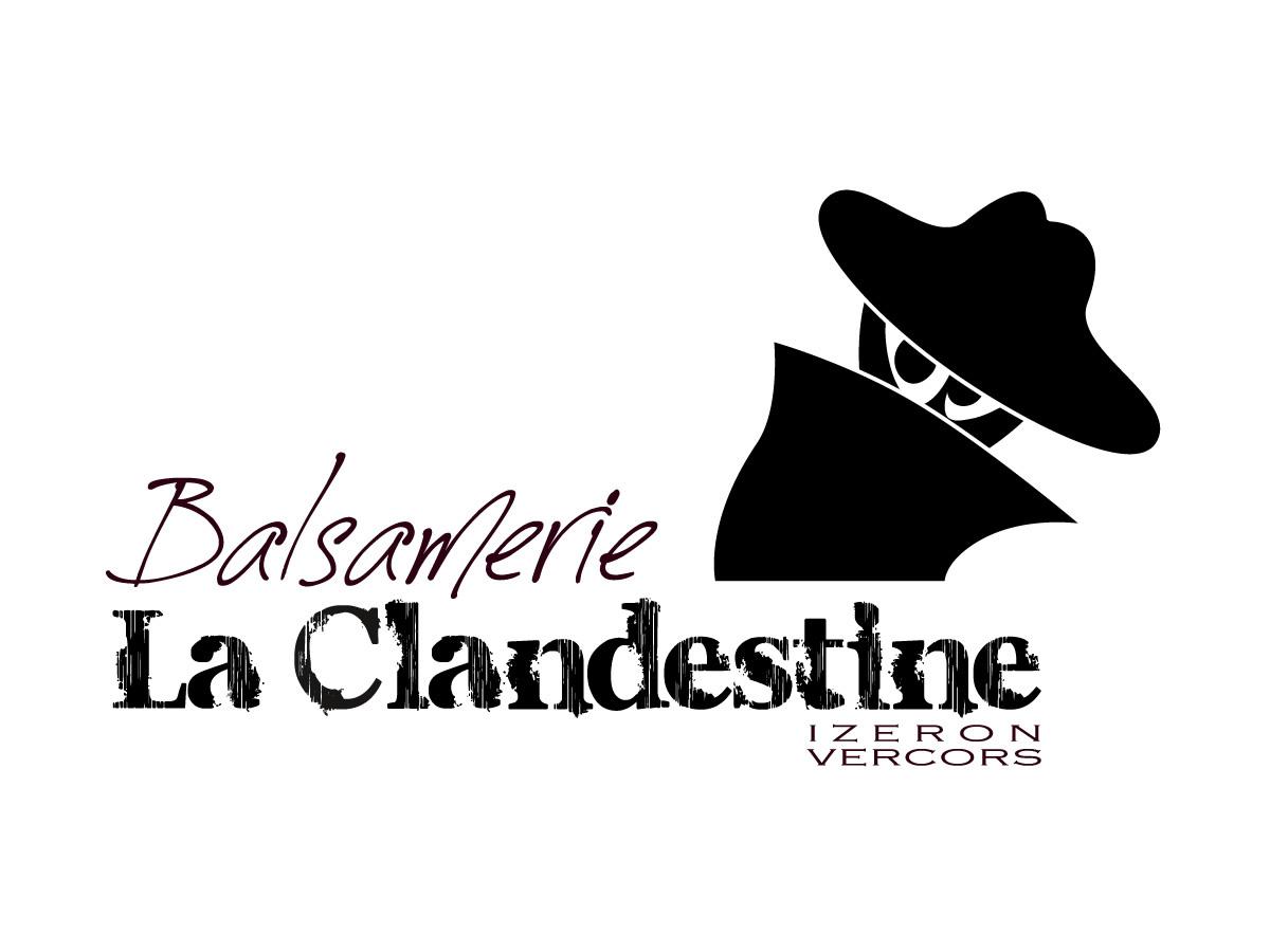 Création du logo de La Balsamerie La Clandestine Vercors