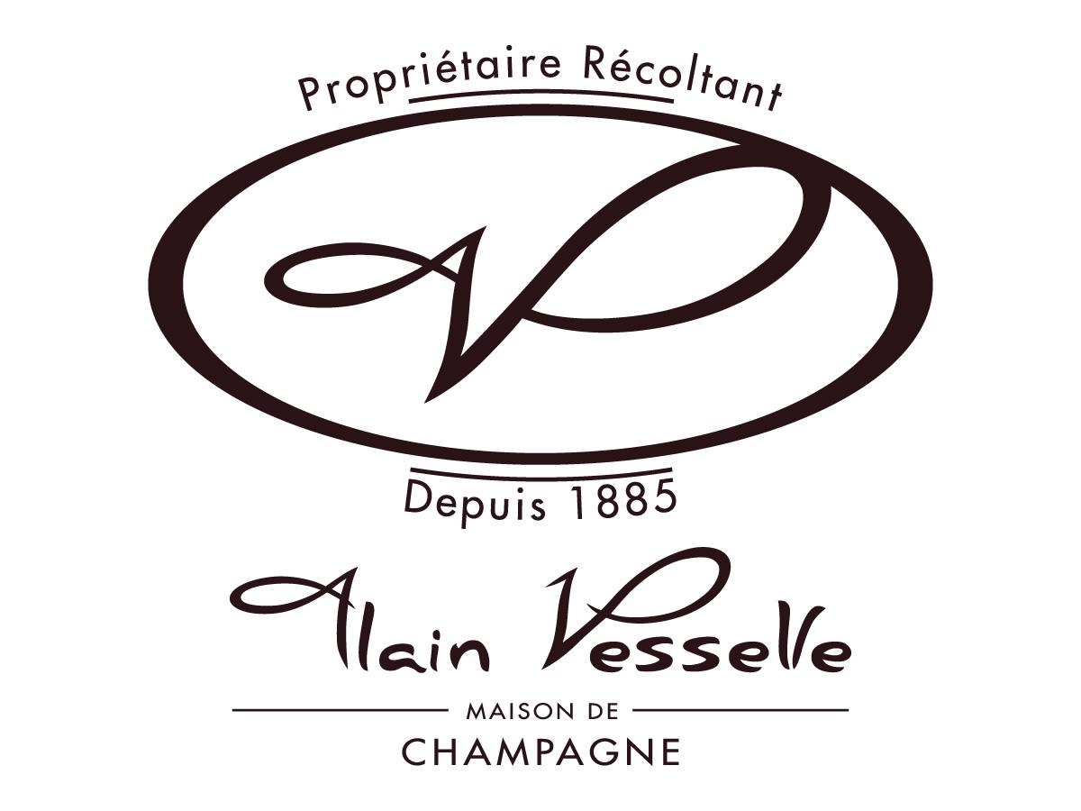 Création du logo de la Maison de Champagne Alain Vesselle
