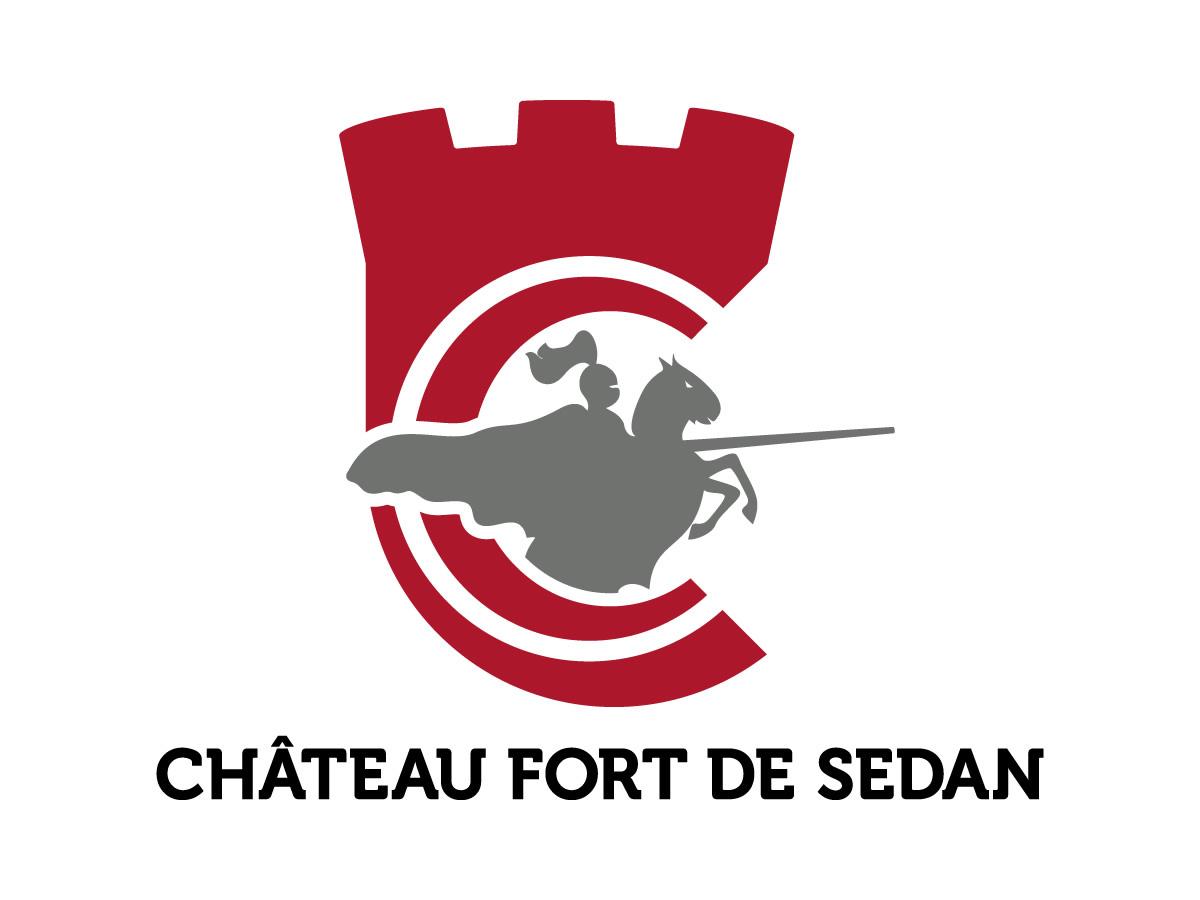 Création du logo du Château Fort de Sedan
