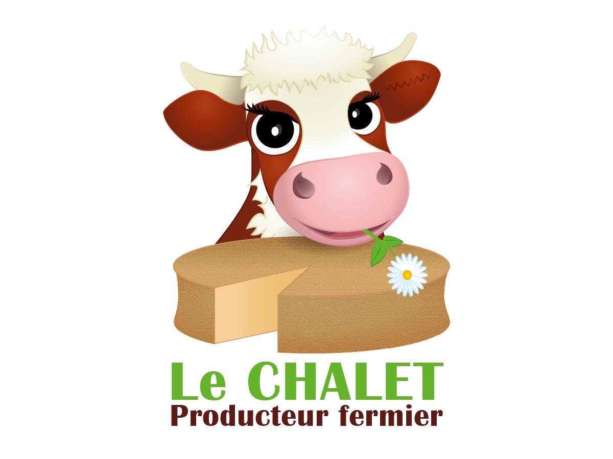 Création du logo du Gaec Le Chalet Abondance
