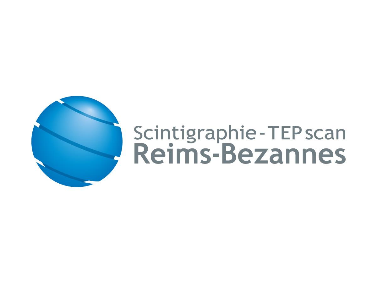 Création du logo de la Scintigraphie Reims-Bezannes anciennement Courlancy